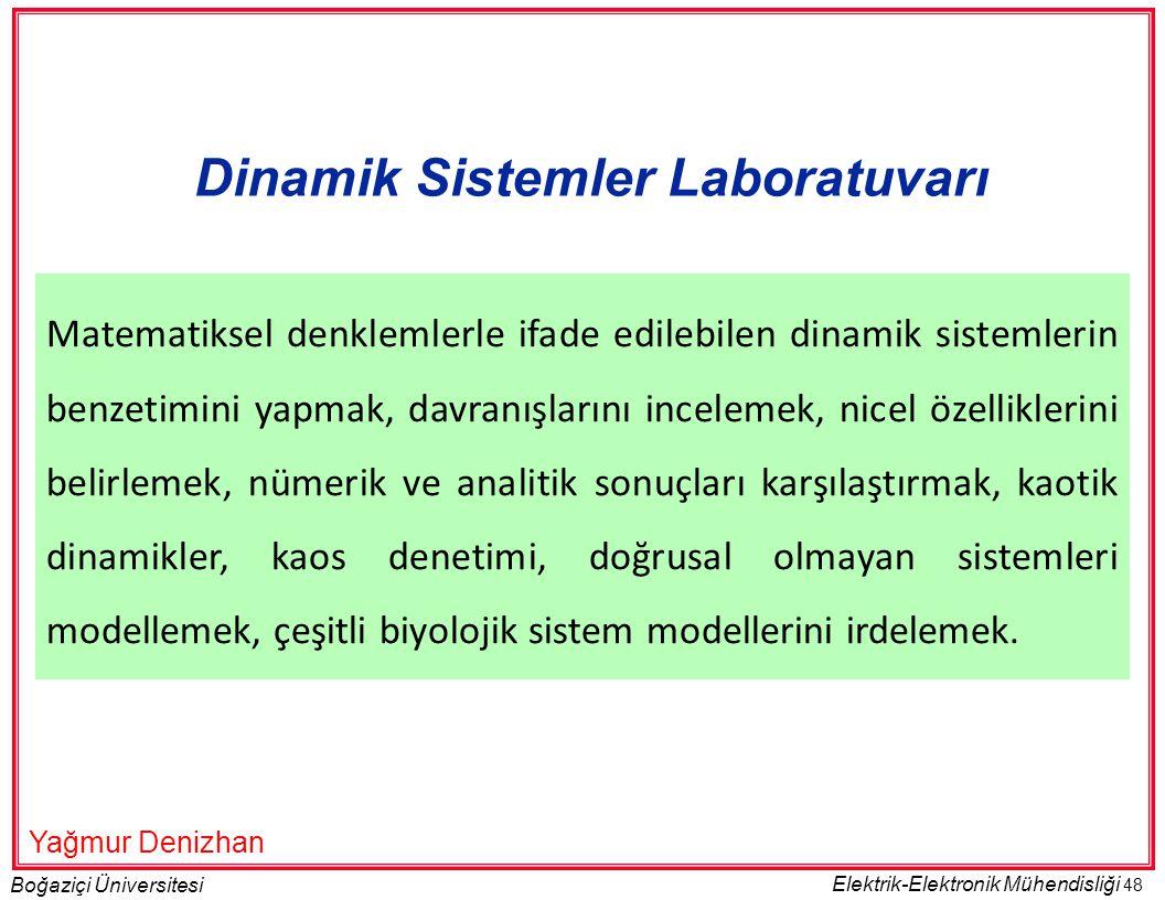 Dinamik Sistemler Laboratuvarı