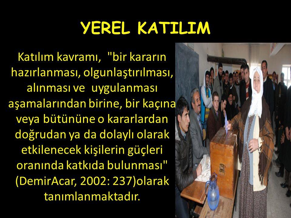 YEREL KATILIM