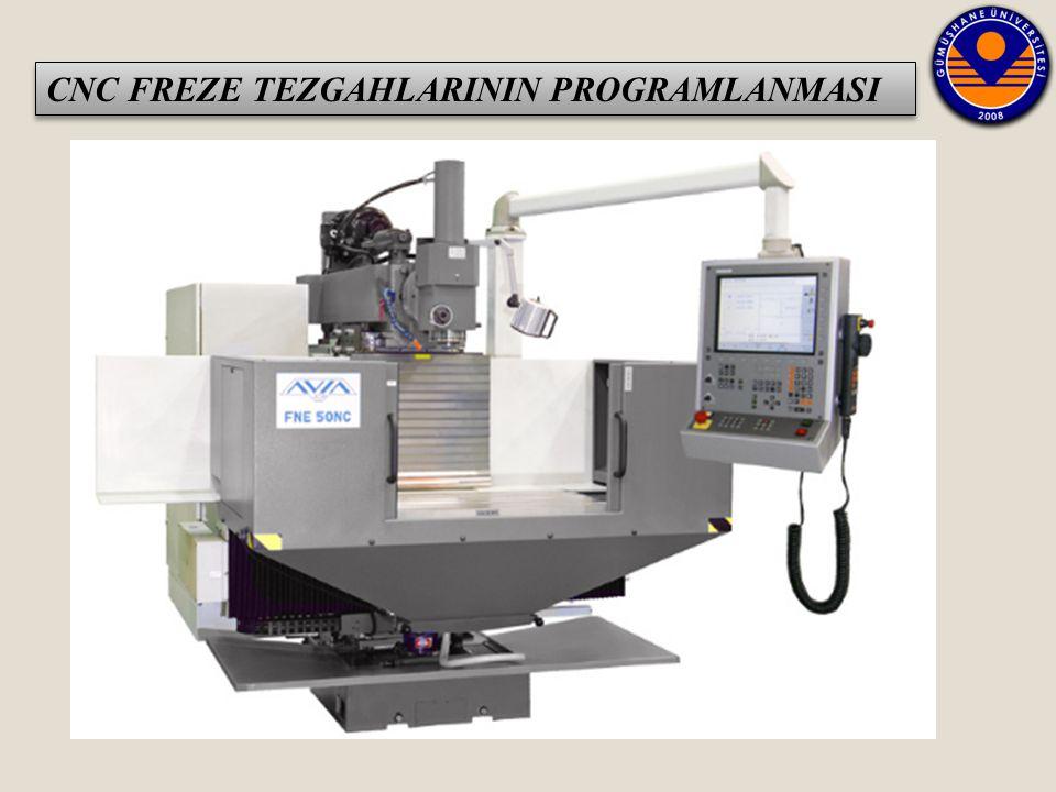 CNC FREZE TEZGAHLARININ PROGRAMLANMASI