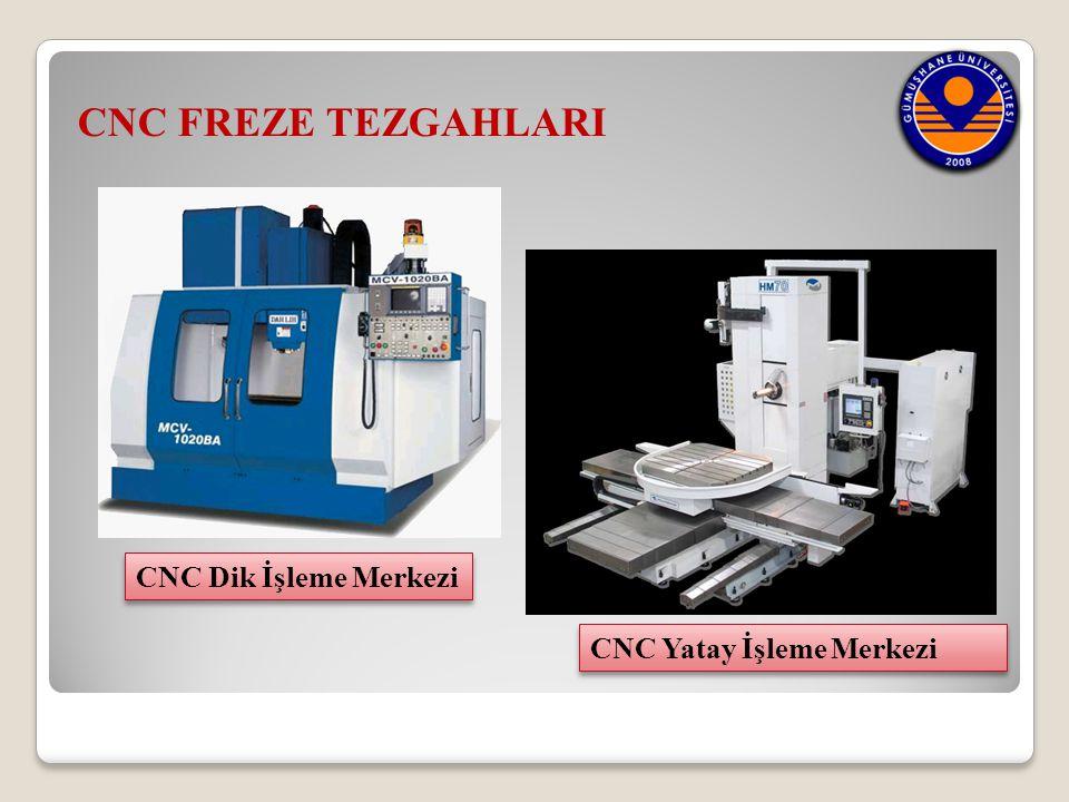 CNC FREZE TEZGAHLARI CNC Dik İşleme Merkezi CNC Yatay İşleme Merkezi