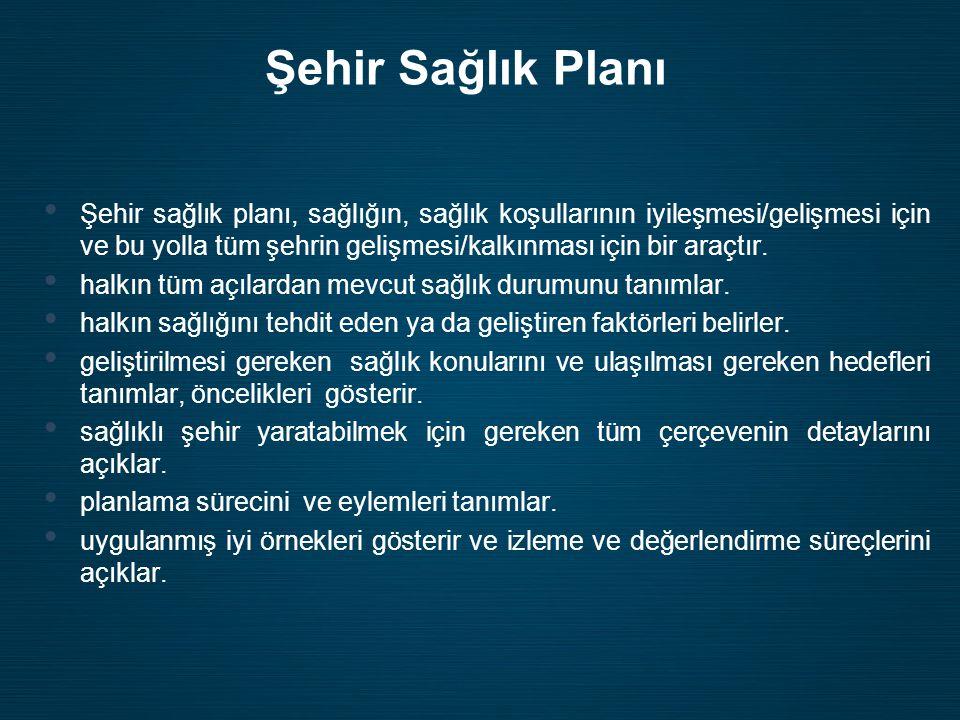 Şehir Sağlık Planı