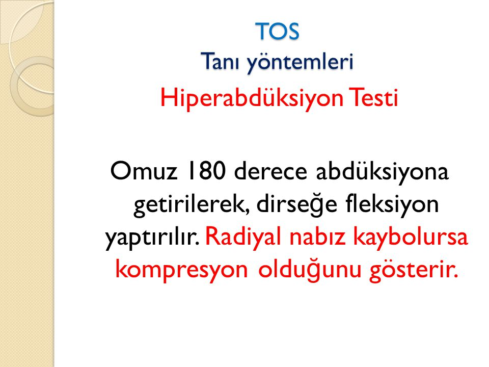 Hiperabdüksiyon Testi