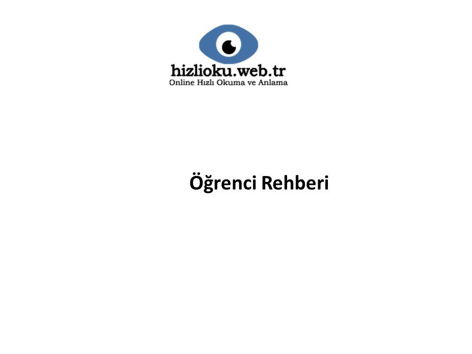Öğrenci Rehberi