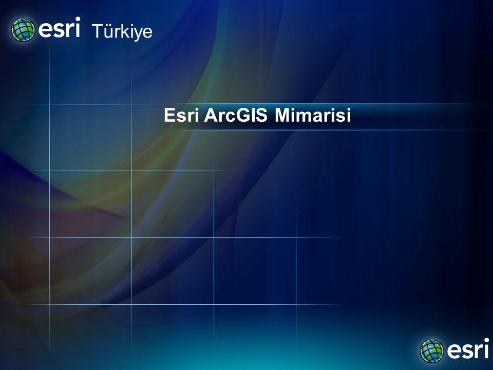 Türkiye Esri ArcGIS Mimarisi