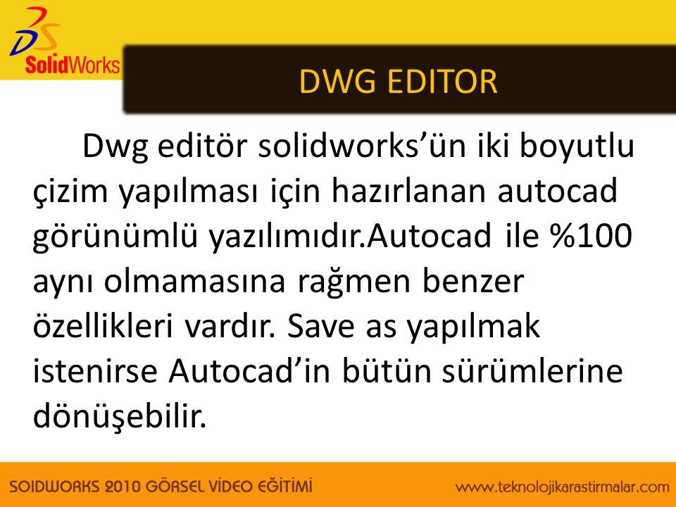 DWG EDITOR