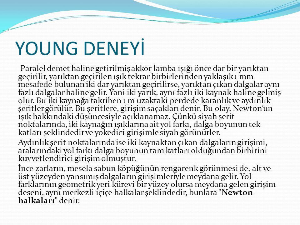 YOUNG DENEYİ