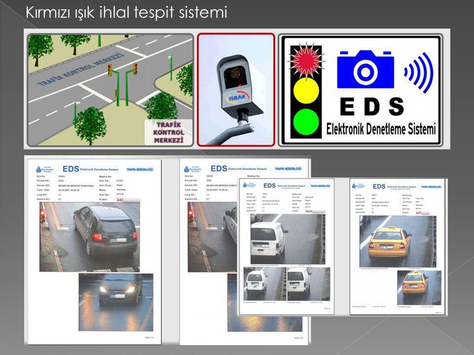 Kırmızı ışık ihlal tespit sistemi