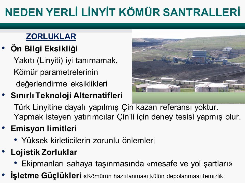 NEDEN YERLİ LİNYİT KÖMÜR SANTRALLERİ