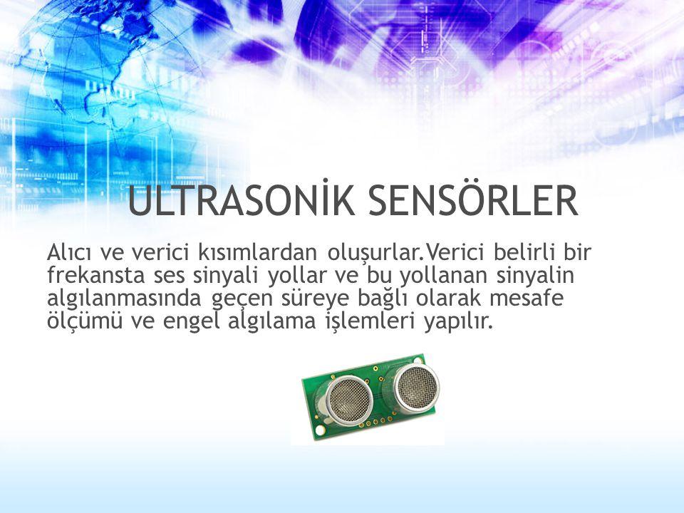 ULTRASONİK SENSÖRLER