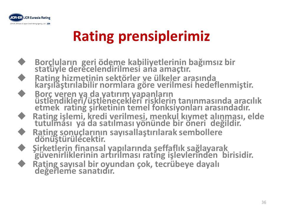 Rating prensiplerimiz