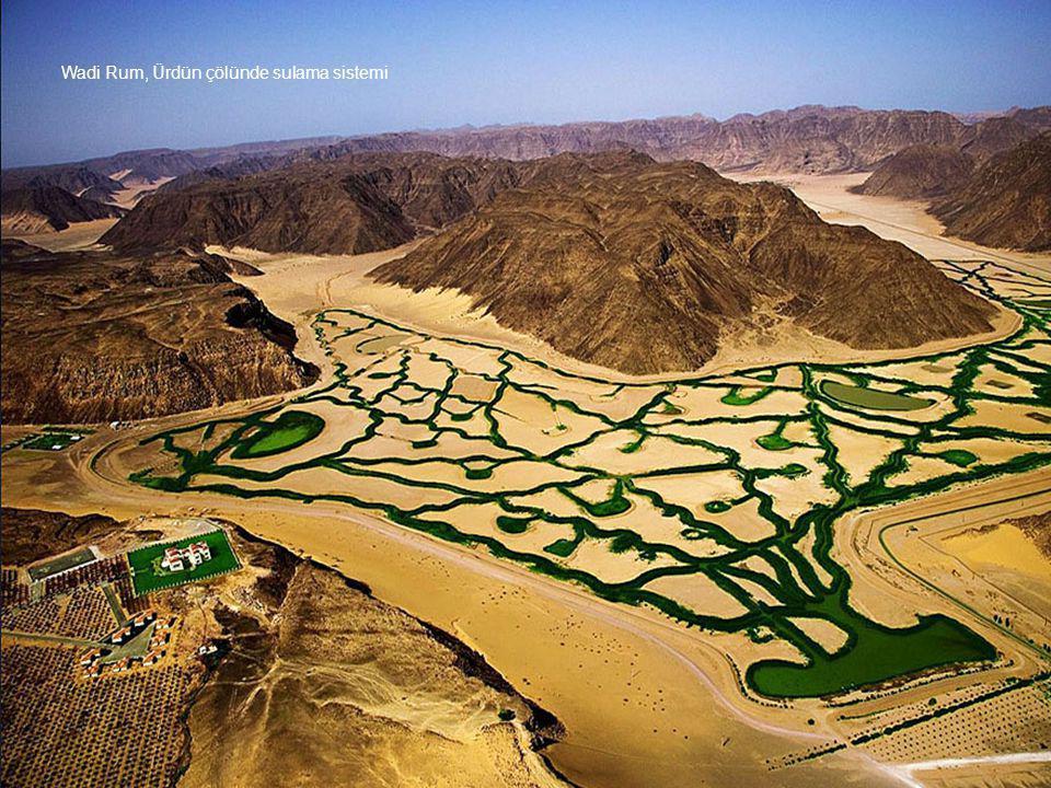 Wadi Rum, Ürdün çölünde sulama sistemi