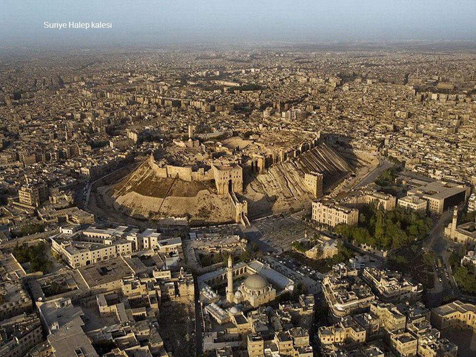 Suriye Halep kalesi