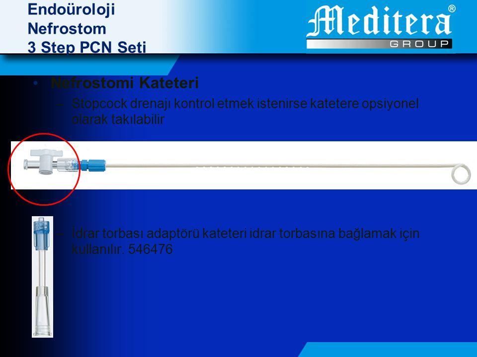 Endoüroloji Nefrostom 3 Step PCN Seti