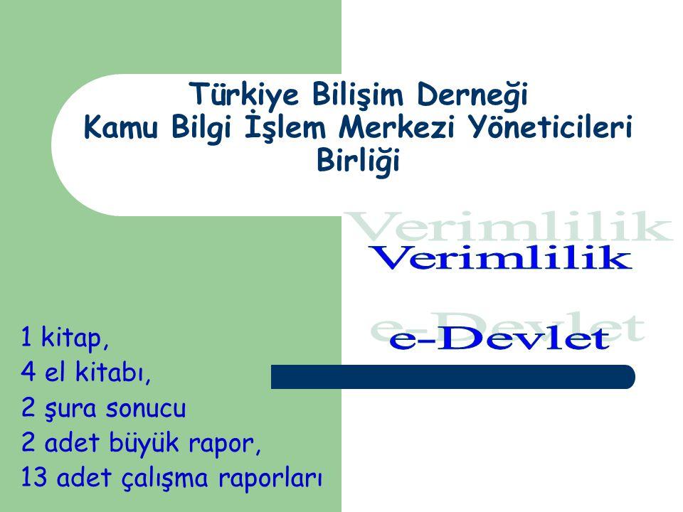 Türkiye Bilişim Derneği Kamu Bilgi İşlem Merkezi Yöneticileri Birliği