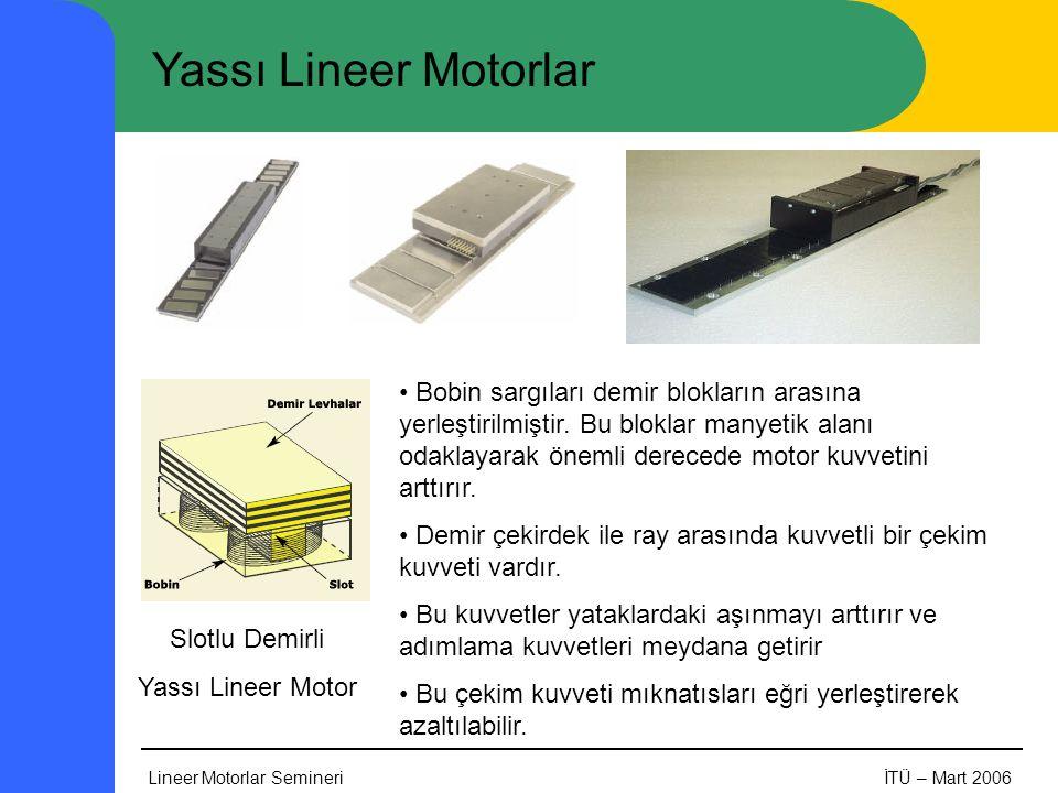 Yassı Lineer Motorlar