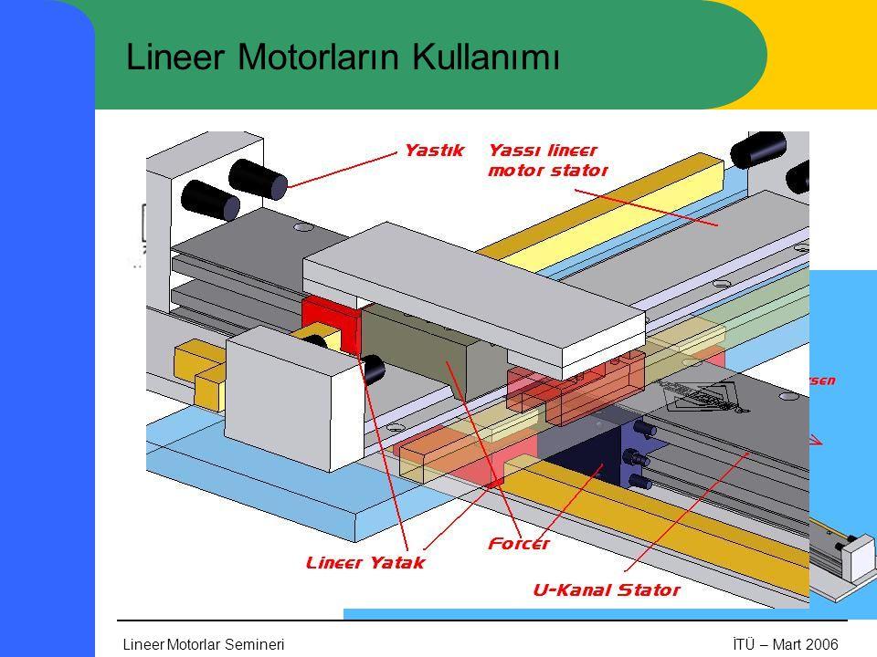 Lineer Motorların Kullanımı