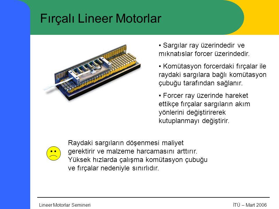 Fırçalı Lineer Motorlar