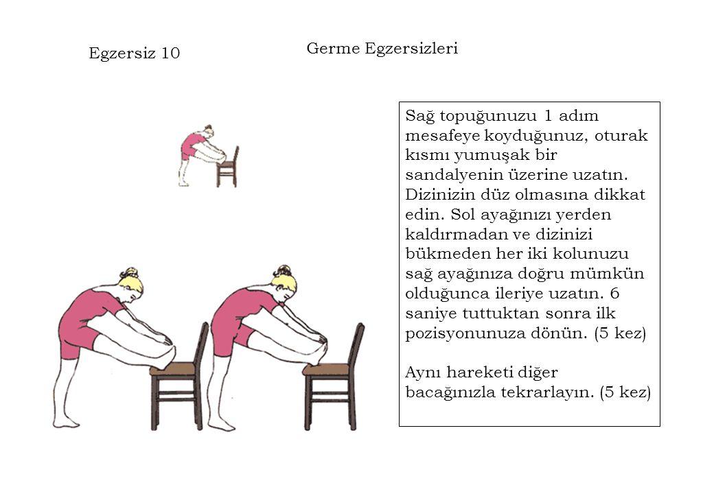 Germe Egzersizleri Egzersiz 10.