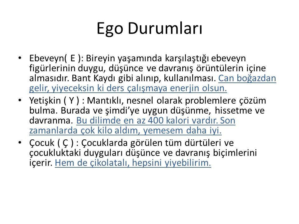 Ego Durumları