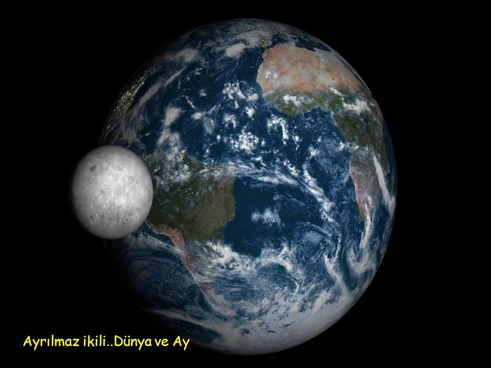 Ayrılmaz ikili..Dünya ve Ay