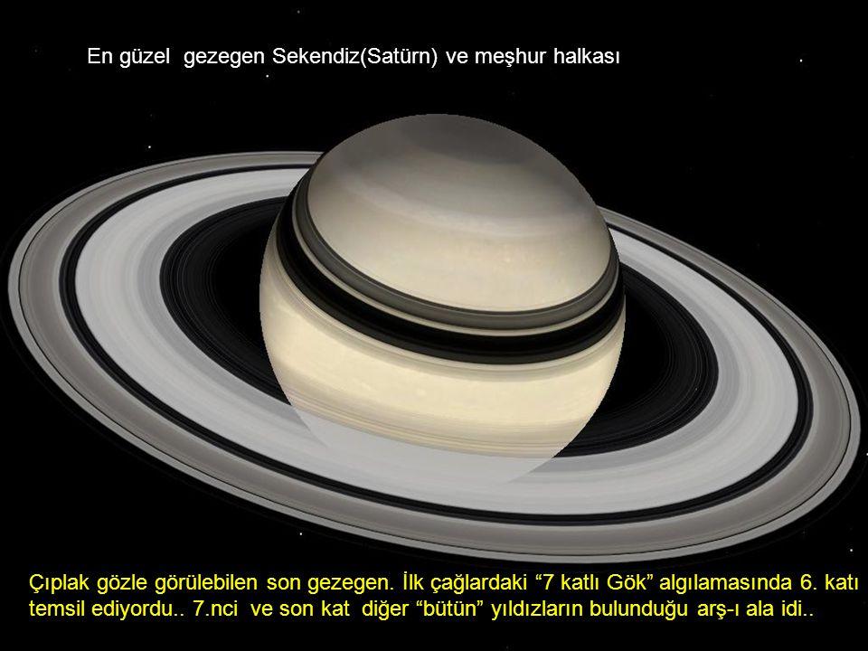 En güzel gezegen Sekendiz(Satürn) ve meşhur halkası
