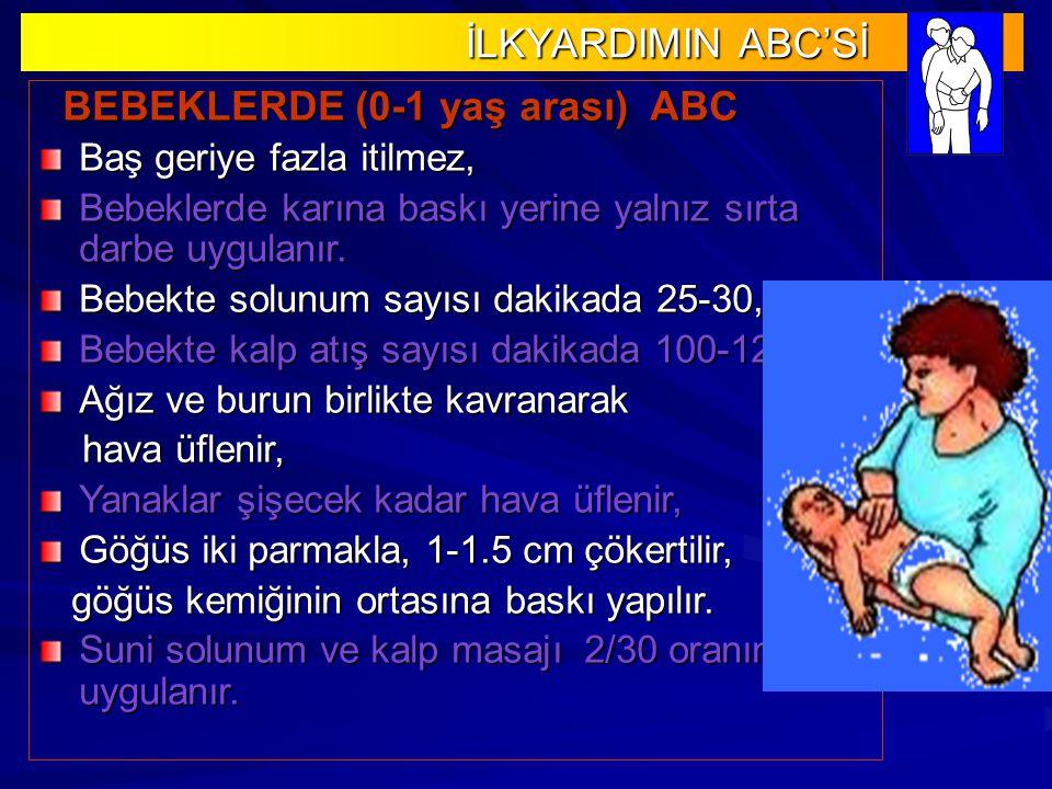BEBEKLERDE (0-1 yaş arası) ABC