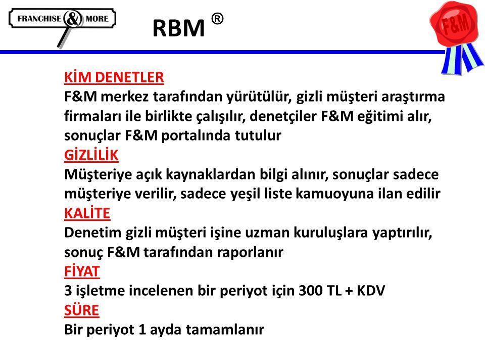 RBM ®