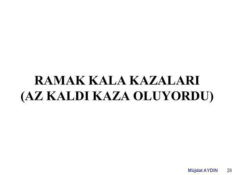 RAMAK KALA KAZALARI (AZ KALDI KAZA OLUYORDU)