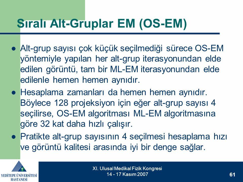 Sıralı Alt-Gruplar EM (OS-EM)