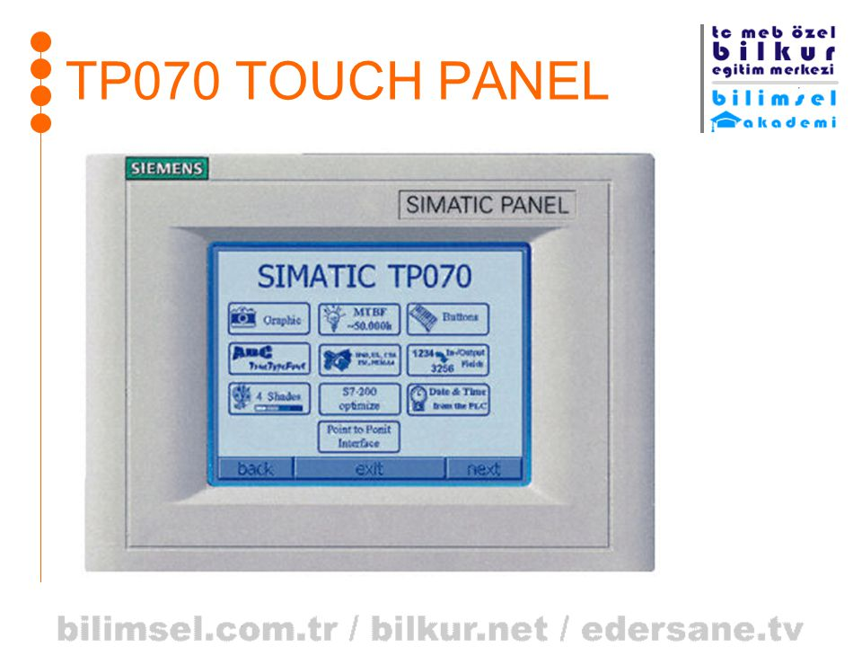 TP070 TOUCH PANEL