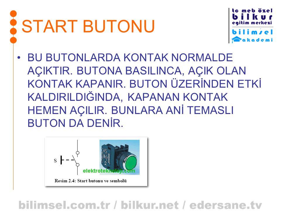 START BUTONU