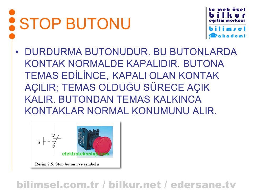 STOP BUTONU
