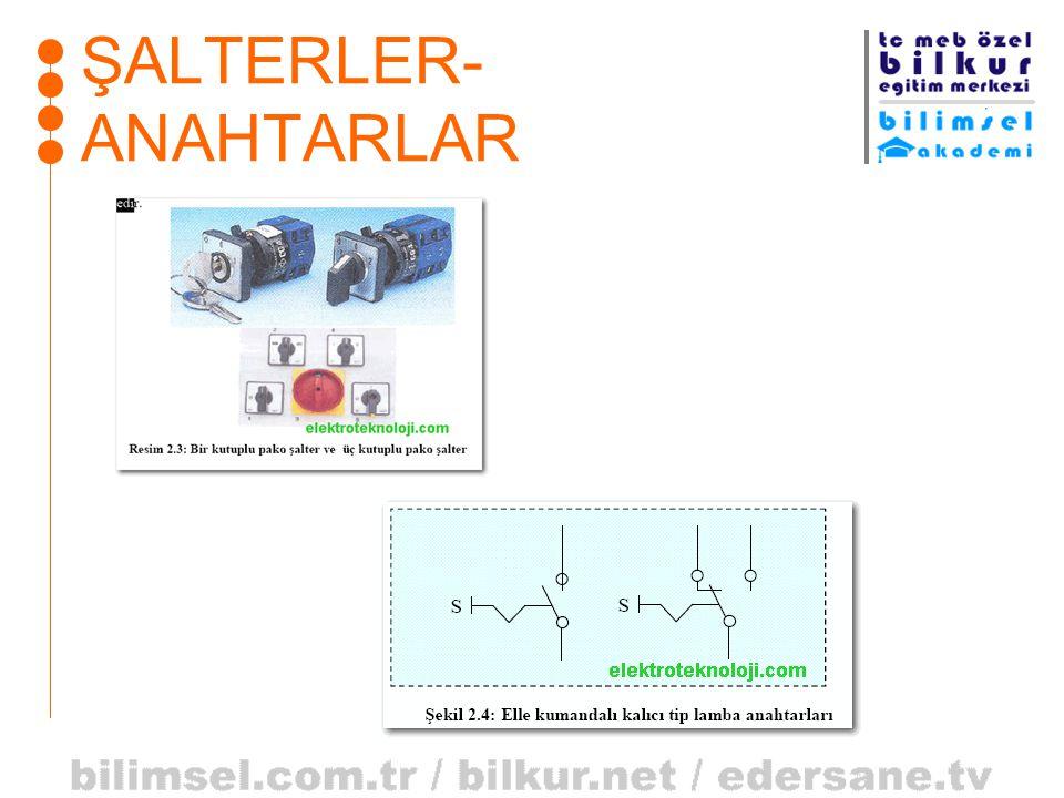 ŞALTERLER-ANAHTARLAR