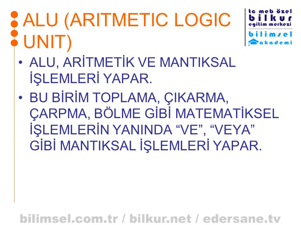 ALU (ARITMETIC LOGIC UNIT)