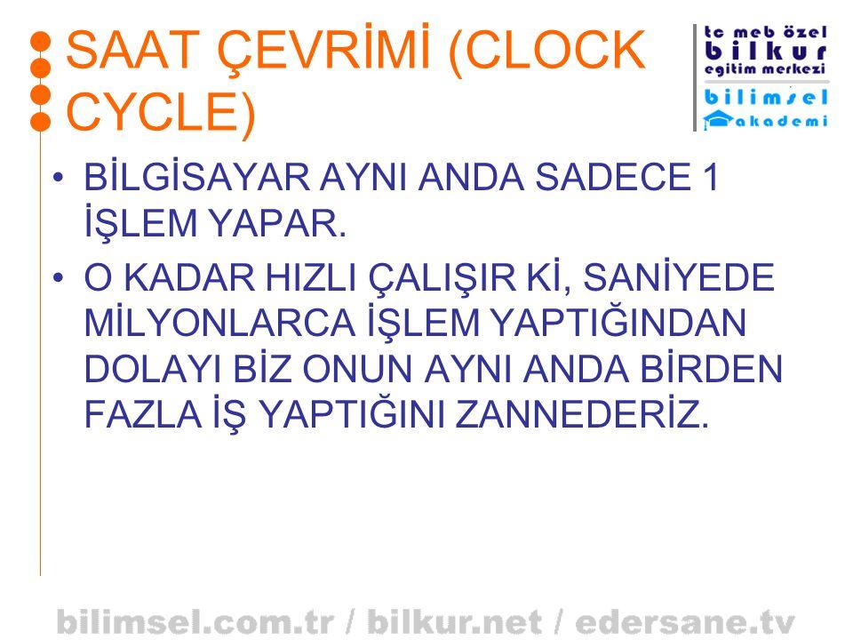 SAAT ÇEVRİMİ (CLOCK CYCLE)