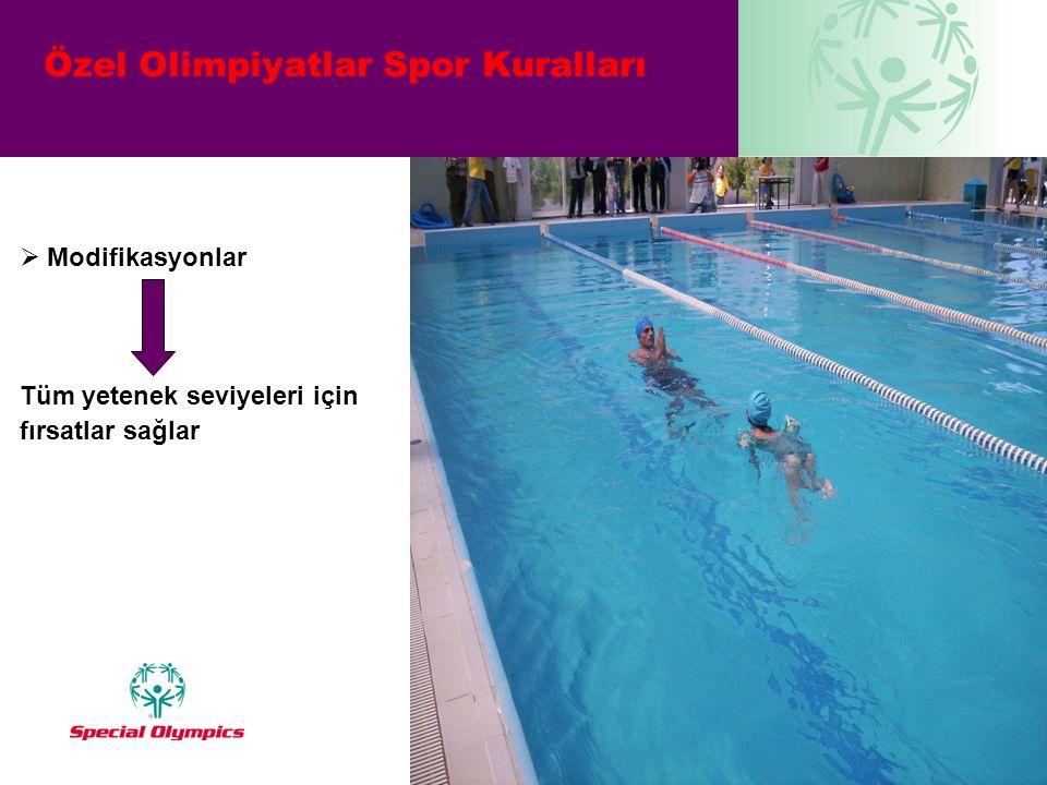 Özel Olimpiyatlar Spor Kuralları