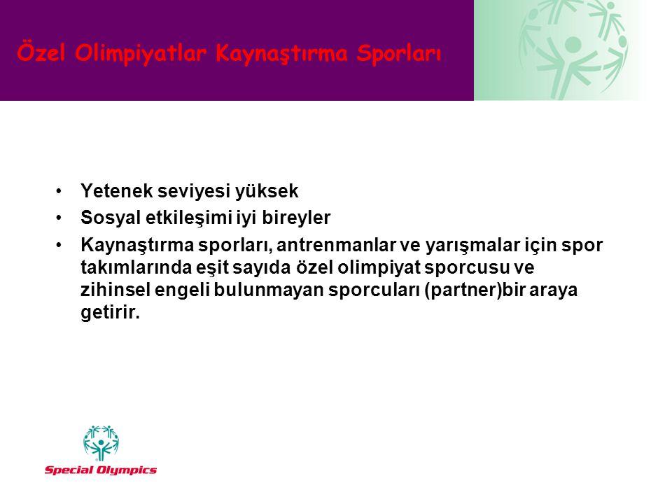 Özel Olimpiyatlar Kaynaştırma Sporları