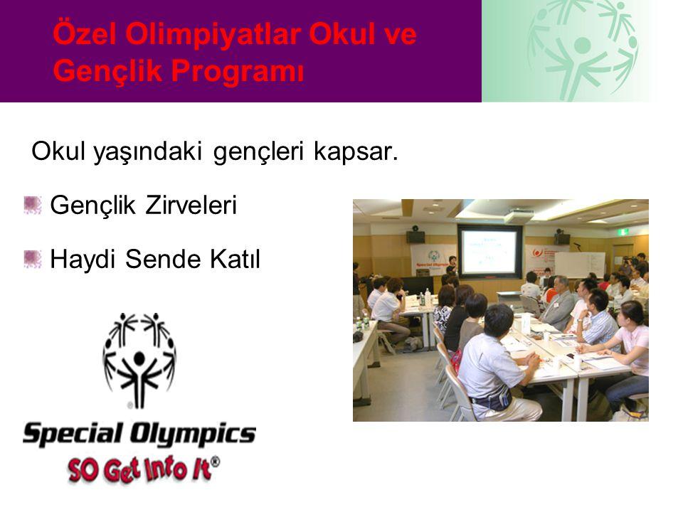 Özel Olimpiyatlar Okul ve Gençlik Programı