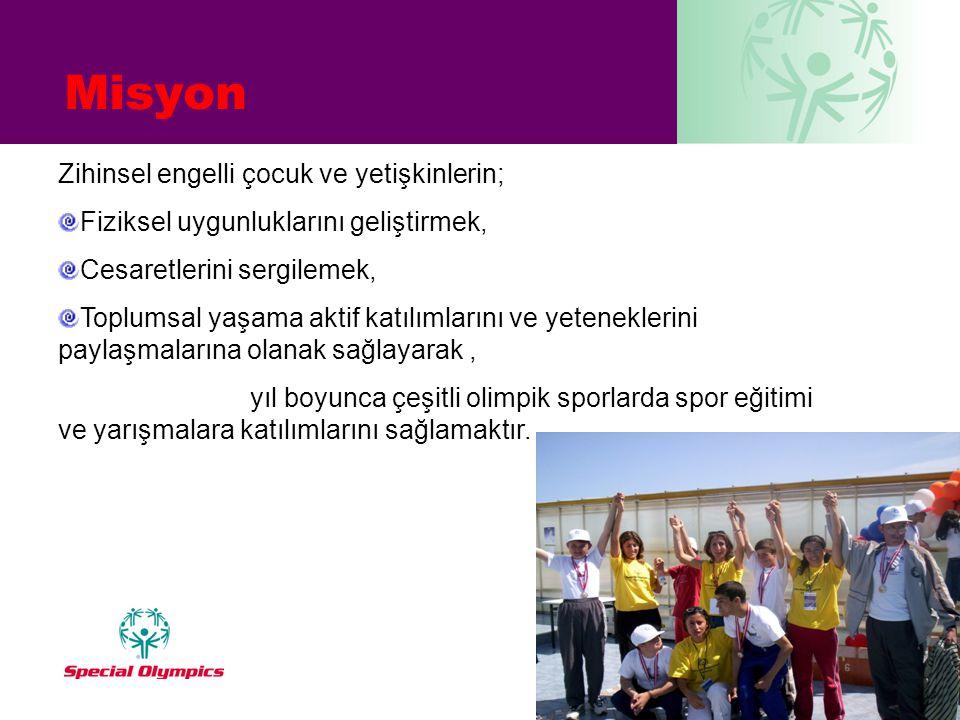 Misyon Zihinsel engelli çocuk ve yetişkinlerin;