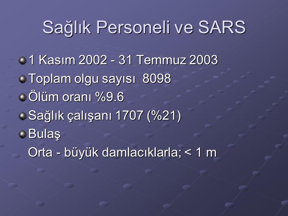 Sağlık Personeli ve SARS