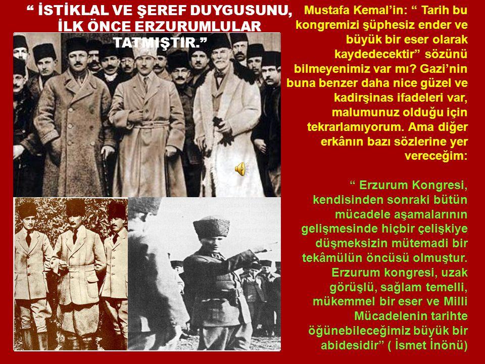 İSTİKLAL VE ŞEREF DUYGUSUNU,