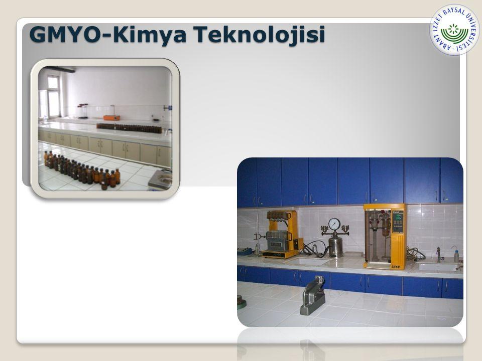 GMYO-Kimya Teknolojisi