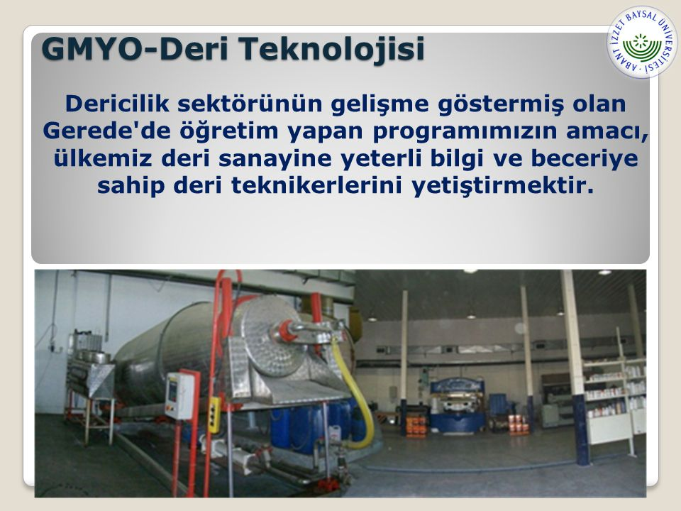 GMYO-Deri Teknolojisi