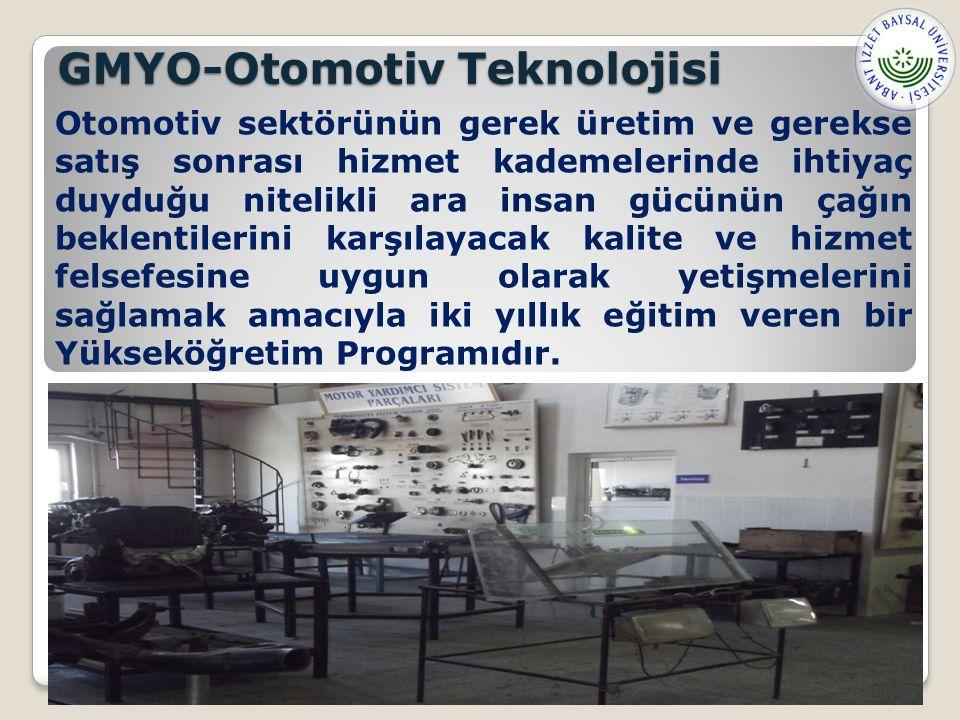 GMYO-Otomotiv Teknolojisi