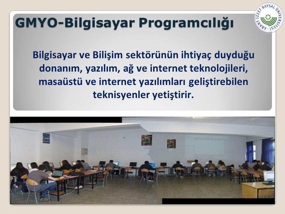 GMYO-Bilgisayar Programcılığı