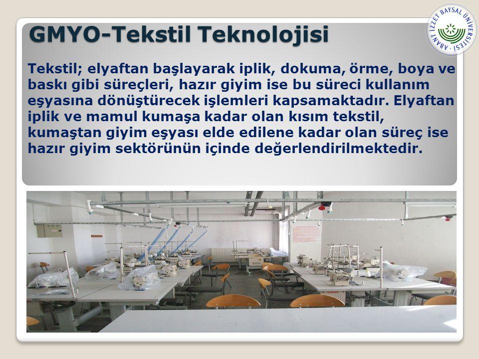GMYO-Tekstil Teknolojisi