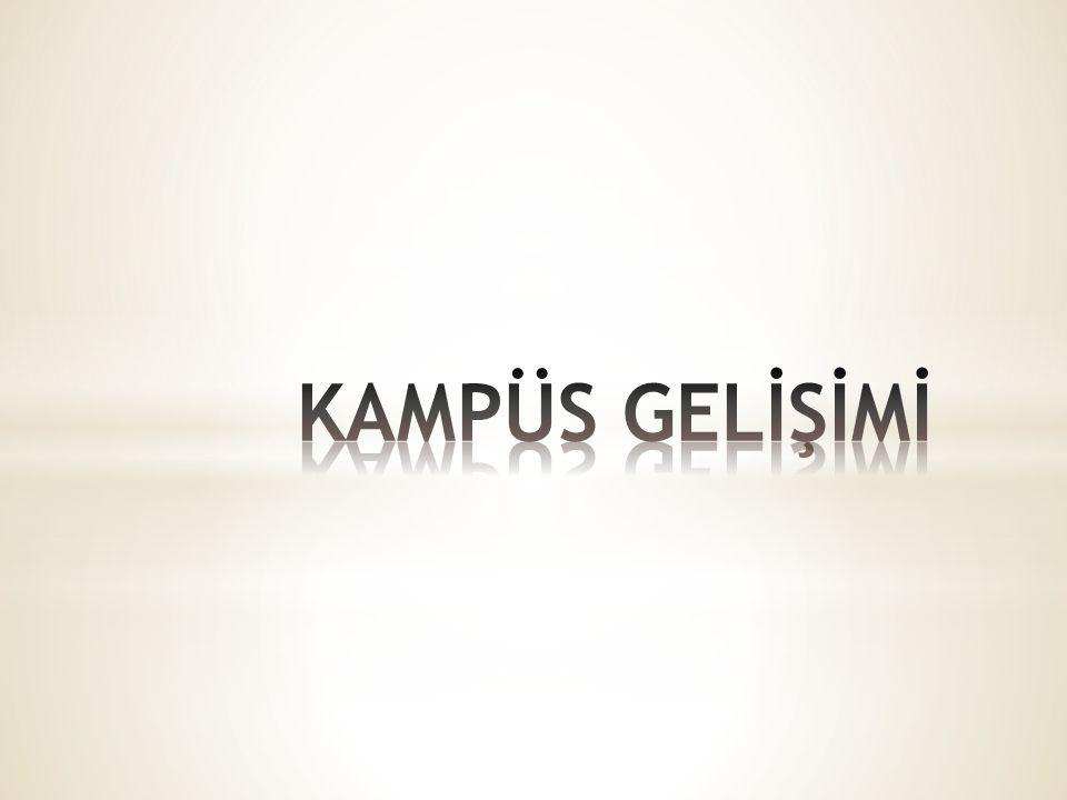 KAMPÜS GELİŞİMİ