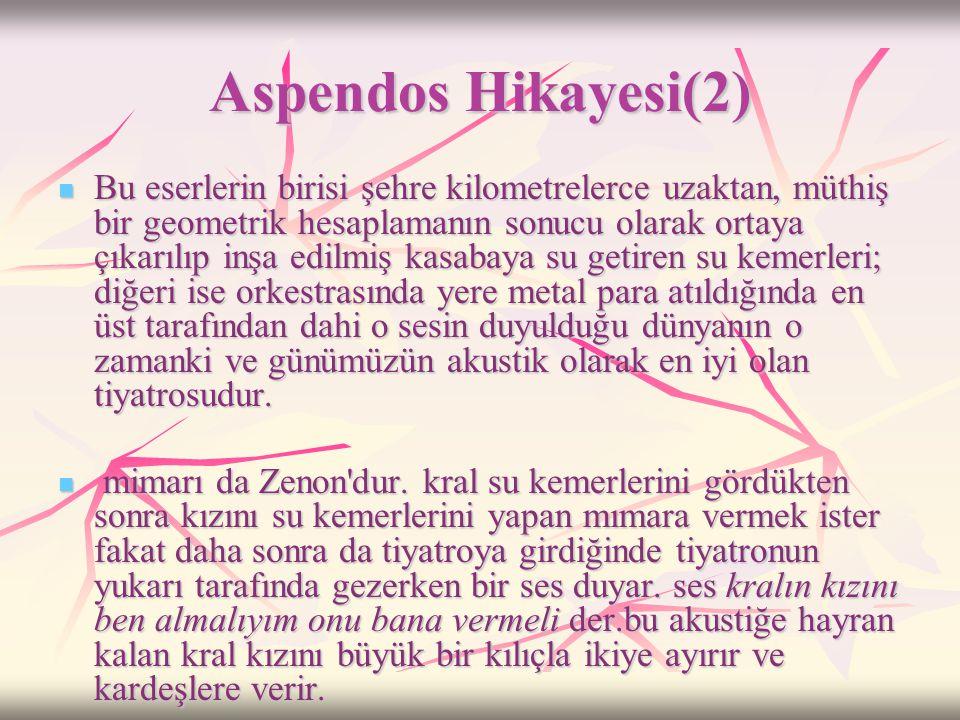 Aspendos Hikayesi(2)