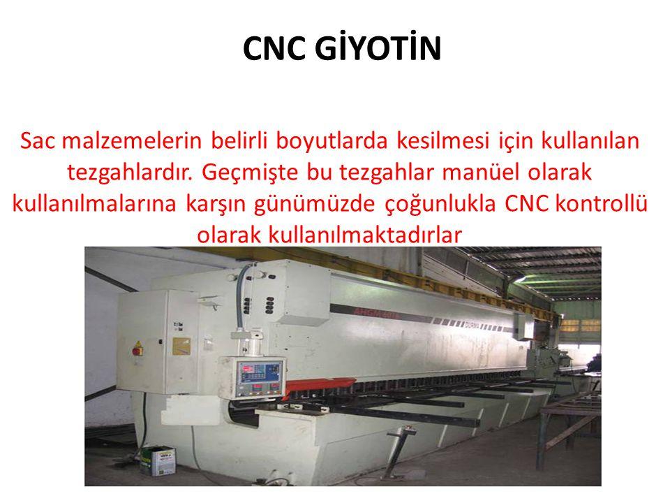 CNC GİYOTİN