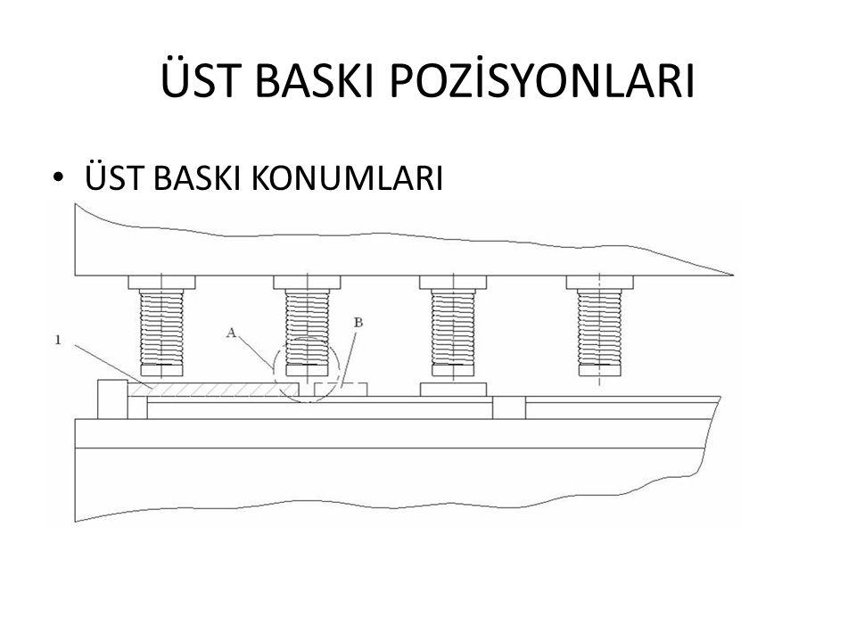 ÜST BASKI POZİSYONLARI